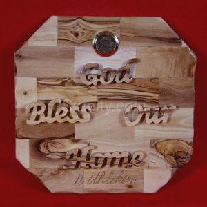 God Bless our Home Bethlehem Plaque
