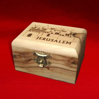 Olive Wood Jewelry box