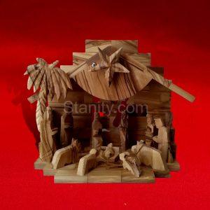 Musical Bethlehem Nativity Creche BA68