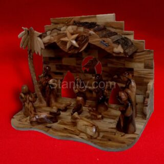 Bark Nativity Creche BA70