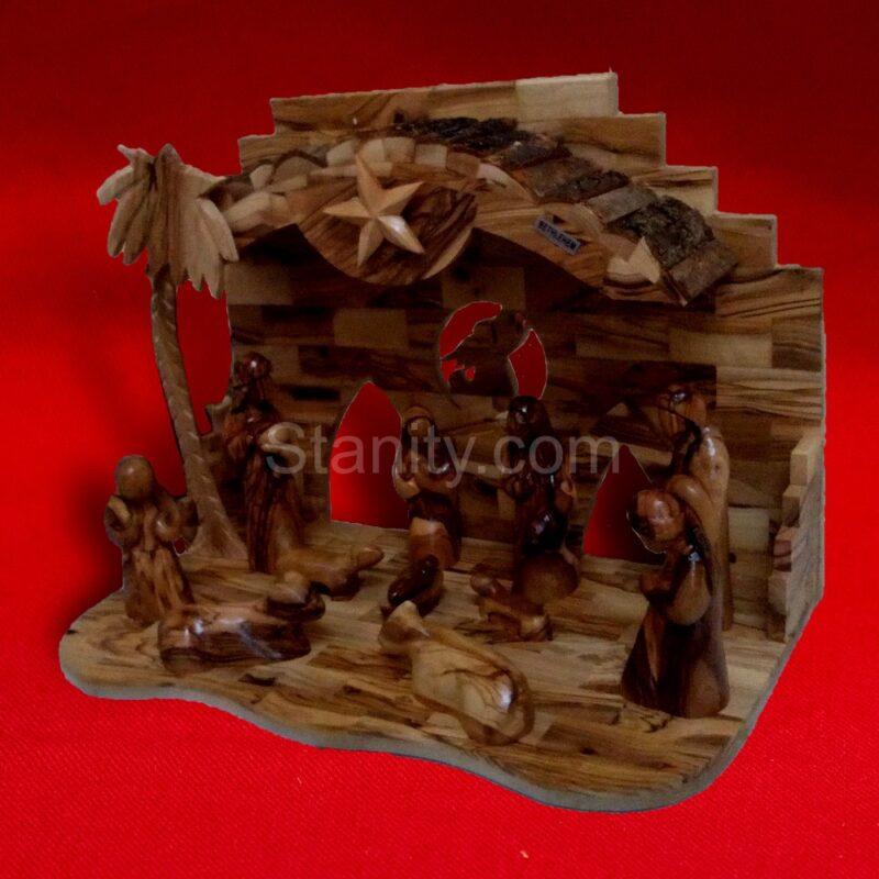 Bark Nativity Creche BA70