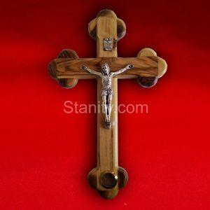 Olive wood cross