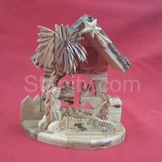 Bark nativity set H95