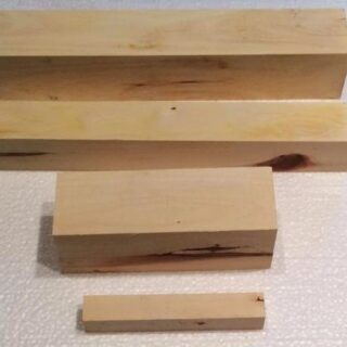 Carob wood turning blanks